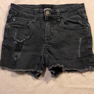 Hudson distressed shorts. Girls size - 7